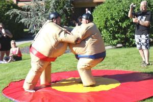 Sumo suit Saturday
